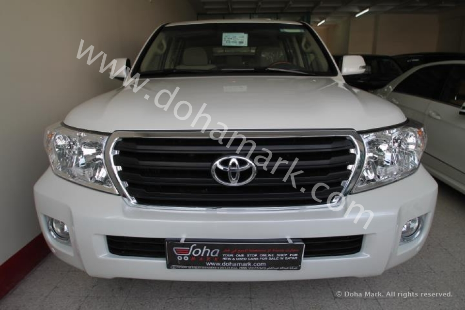 Toyota Land Cruiser 2014 White 2014 Toyota Land Cruiser gx