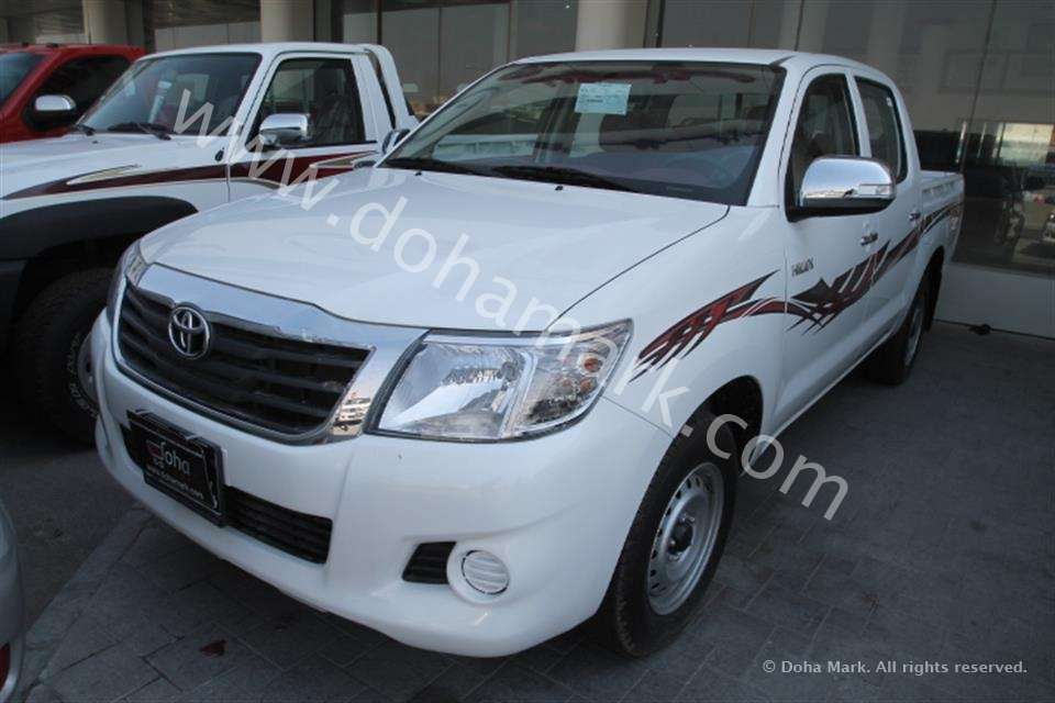 2014 Toyota Hilux Interior